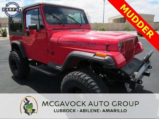 Pre-Owned 1993 Jeep Wrangler S