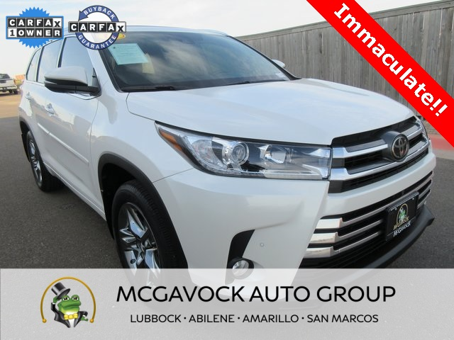 Pre-Owned 2018 Toyota Highlander Limited Platinum