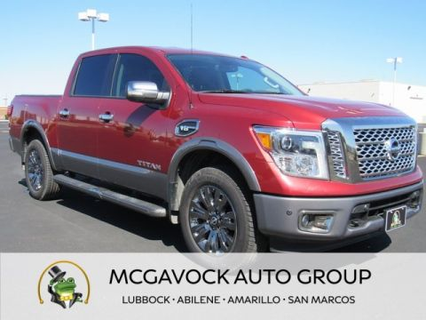 Pre-Owned 2017 Nissan Titan Platinum Reserve